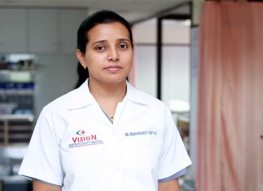 Dr.Bhagyashree C. Shetye at Vision Hospital North Goa
